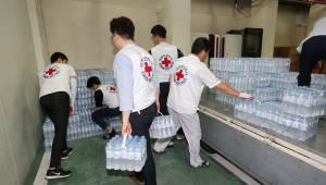 하이트진로음료, 폭염 취약계층에 생수 1만병 지원