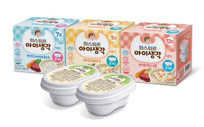 롯데푸드 파스퇴르 아이생각 이유식.