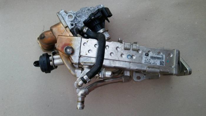 리콜 대상인 BMW F코드 모델에 적용되는 배기가스재순환장치(EGR) 모듈