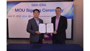 SBA, WFUNA·ERA와 협력 구축