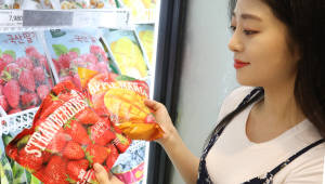 이마트, 폭염이 만든 인기상품 '냉동 과일' 매출 급증
