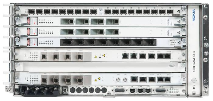 제주신화월드 광 LAN 구축에 도입된 노키아 7360 ISAM FX 장비