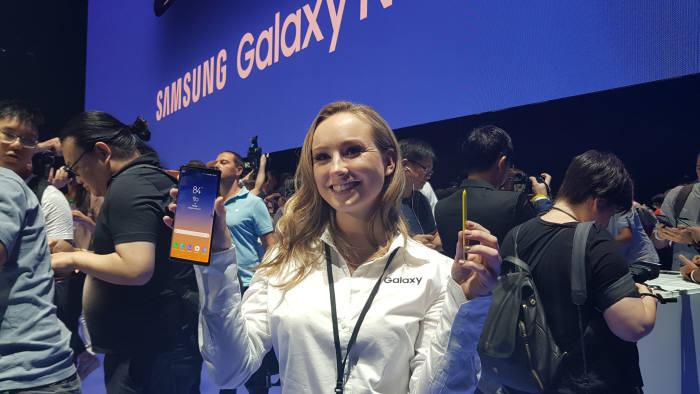 삼성전자가 13일부터 갤럭시노트9 512GB 스페셜 에디션 예약판매를 한다.