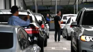 BMW 문제 진단 차량, '평택항'으로 옮긴다