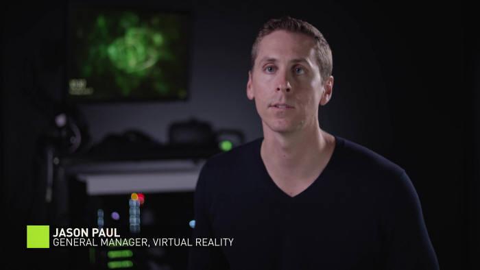 엔비디아 VR 총괄 책임자 제이슨 폴(Jason Paul) [사진=엔비디아 유튜브 채널]