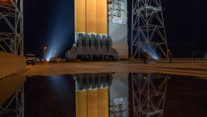 인류 최초 태양탐사선 '파커' 발사