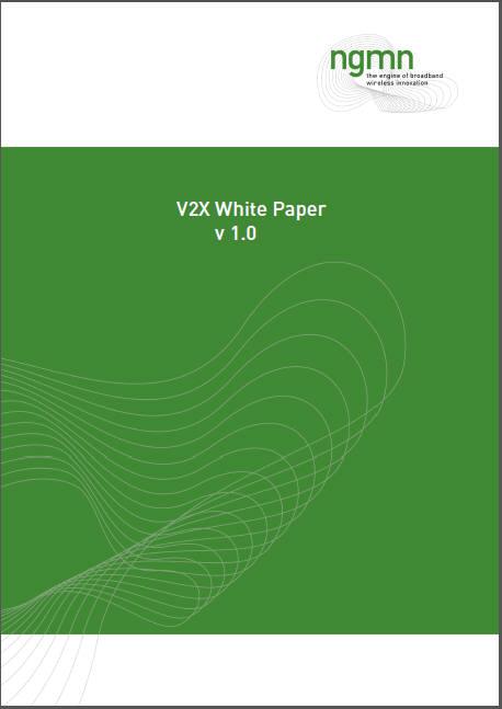 차세대 네트워크 기술을 연구하는 글로벌 이동통신사 모임인 NGMN(Next Generation Mobile Networks)은 차량 안전을 높이는 핵심 기술로서 차량사물통신(V2X)에 대한 입장을 담은 V2X 백서를 발간했다.