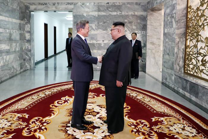 2차 남북정상회담 모습 사진 청와대