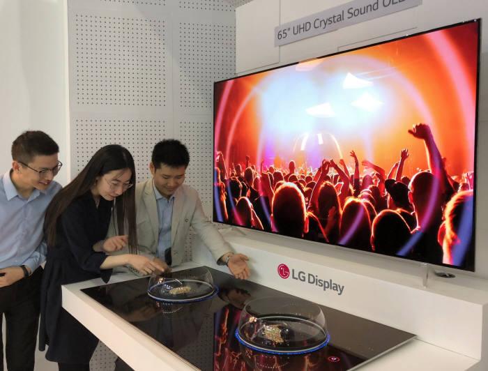 'LG디스플레이 OLED, TV 시장서 통했다'…판매 급증, 흑자 눈앞