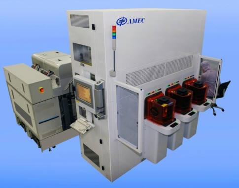 중국 AMEC의 건식 식각 장비.