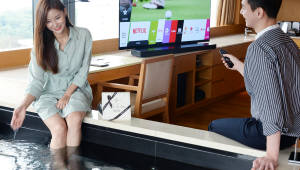 LG전자, 반얀트리에 '올레드 TV 시어터룸' 운영
