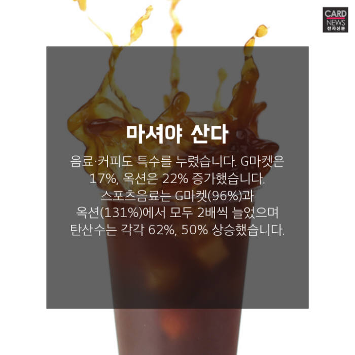 [카드뉴스]더위야 고맙다, 폭염 특수 품목