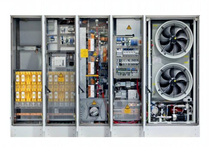 GE LV5 태양광 인버터 (내부)