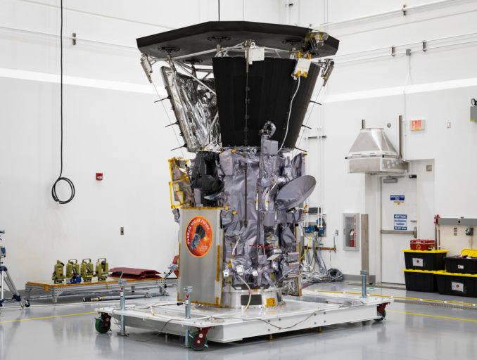 태양 탐사선 파커 사진: NASA, 존스홉킨스 연구소