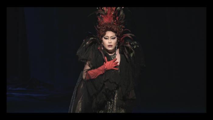 중소 아트센터에서 상영된 스크린 오페라 리날도(자료: KETI)