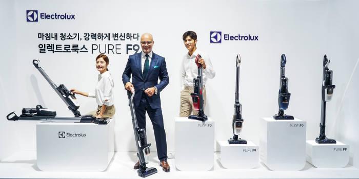 일렉트로룩스, 트랜스포머 청소기 '퓨어 F9' 출시