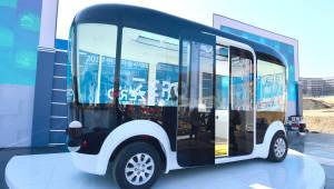 경기도 '자율주행 버스' 내달 시범운행 들어간다