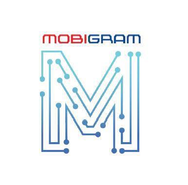 모비그램 로고.