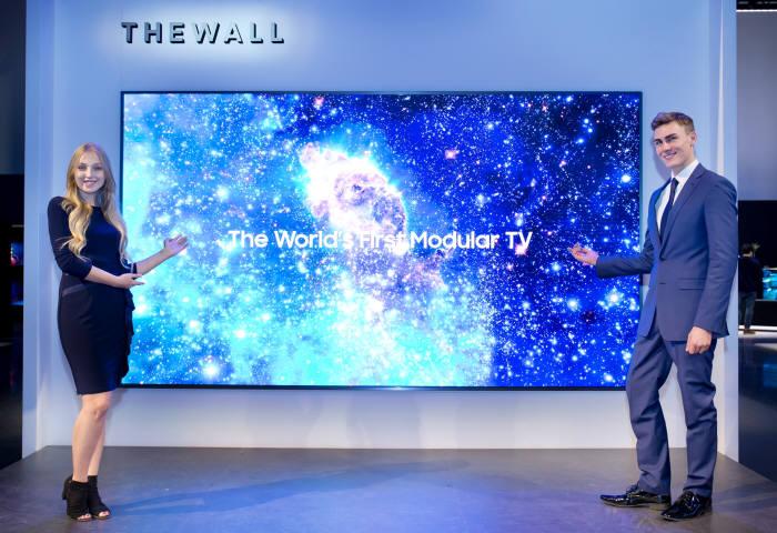 삼성전자 146형 모듈러 TV 더 월(The Wall)