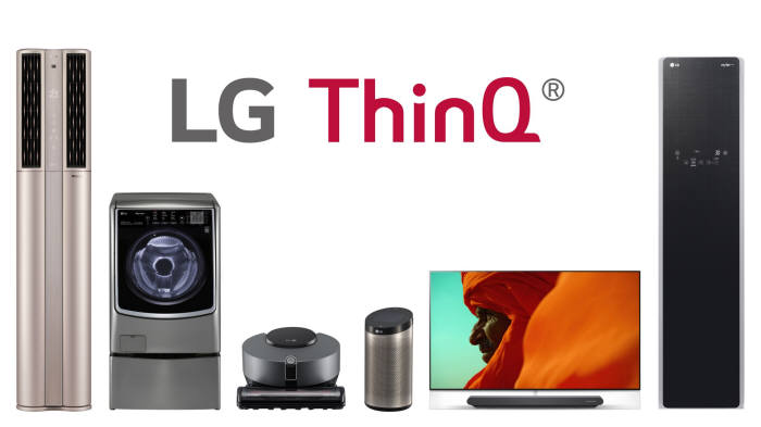LG 씽큐(ThinQ) 가전 제품