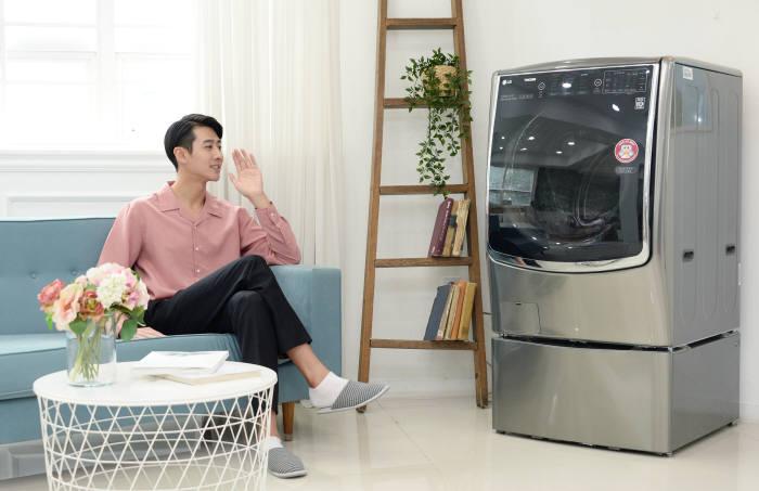 LG 트롬 씽큐 드럼세탁기