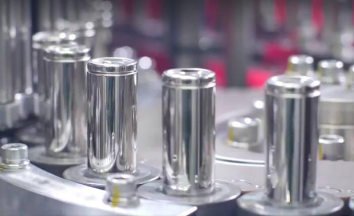 파나소닉 21700 원통형 배터리. <전자신문DB>
