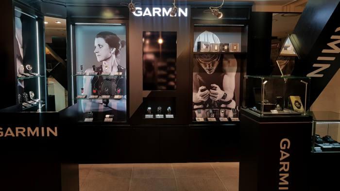 가민은 서울 소공동 롯데백화점 본점에 가민 브랜드샵 4호점을 오픈했다.