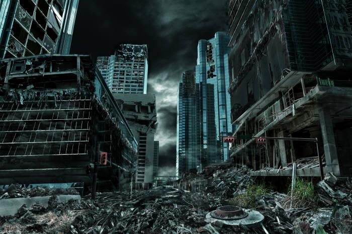 문명이 붕괴하는 원인에는 어떤 것이 있을까? 외계 문명도 우리와 비슷한 문명 붕괴 단계를 거칠까? (출처: shutterstock)