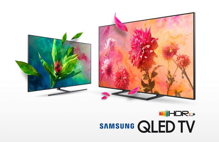 삼성전자 2018년형 QLED TV와 프리미엄 UHD TV 전 라인업이 HDR10+ 인증 로고를 획득했다.
