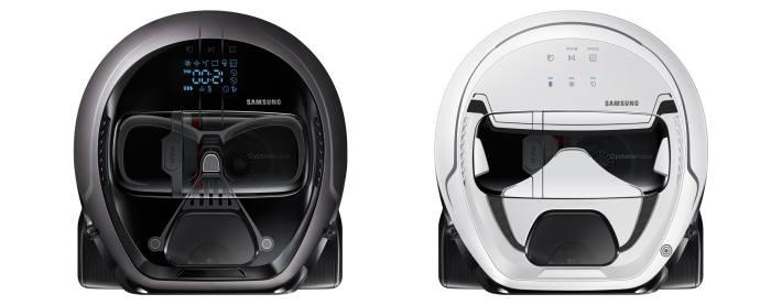 삼성전자가 미국 컨슈머리포트의 로봇청소기 평가에서 호평을 이끌어냈다. 사진은 삼성전자 스타워즈 에디션.