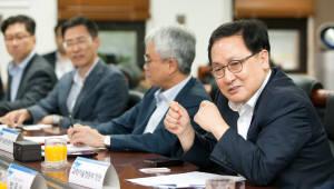 유영민 장관, 민간에서 혁신성장 길 찾는다