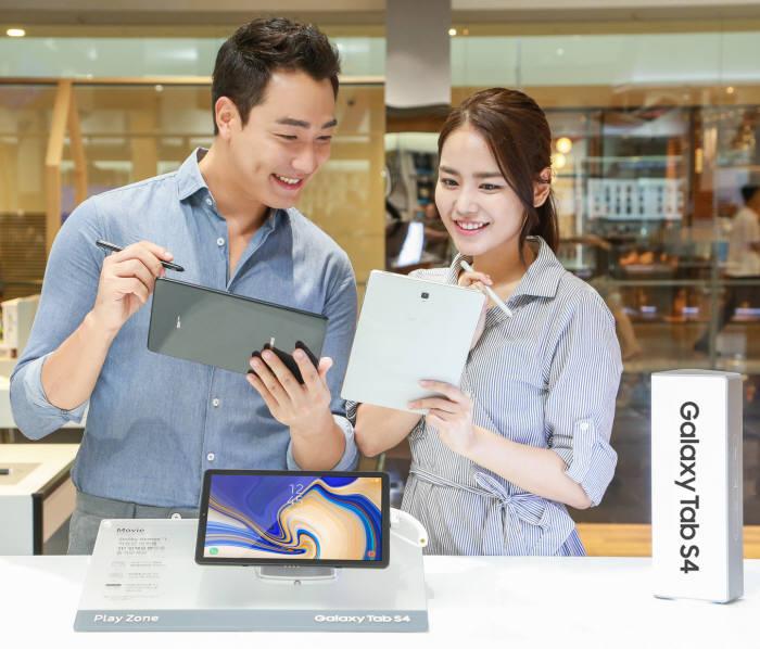 삼성전자 '갤럭시탭S4' 출시...LTE 모델 88만원