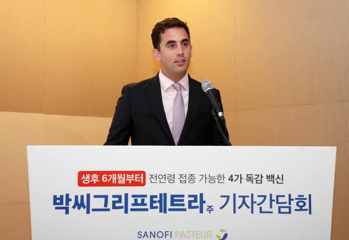 박씨그리프테트라주 출시 1주년 기자간담회_ 밥티스트 드 클라랑스