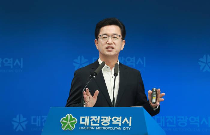 허태정 대전시장 민선7기 정책방향 제시...개방과 혁신 살찌는 경제 등 약속