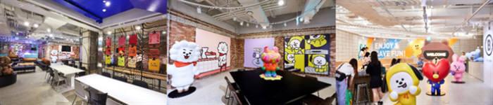 라인프렌즈, 문화 아지트 컨셉 카페 '비라운드' 오픈