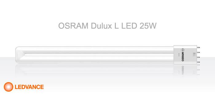 오스람 Dulux L LED(둘룩스 엘 엘이디) 25W.
