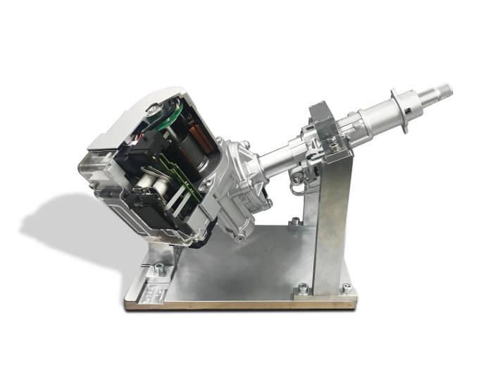 자율주행용 첨단 첨단 조향 장치 (제공=현대모비스)