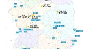 원주·충주·영주·청주·세종·논산·나주, 국가산업단지 후보로 선정
