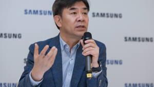 """[IFA 2018]김현석 삼성전자 사장 """"연간 판매하는 기기 5억대, AI 확대 기반"""""""