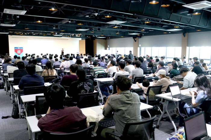 지난 31일 홍릉 콘텐츠 인재캠퍼스에서 인디게임 오아시스를 주제로 콘텐츠 창의인재동반 오픈특강이 진행됐다.