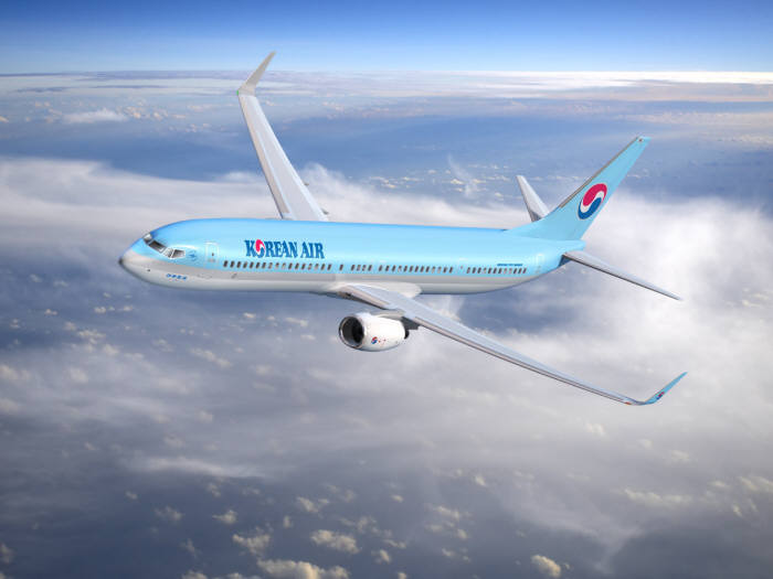 대한항공 보잉 737-900ER 항공기 (제공=대한항공)