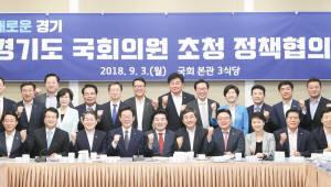 """이재명-경기도 국회의원, """"경기도 발전 위해서는 여·야 없다"""""""