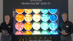 LG 8K 올레드 TV, IFA 2018에서 '최고' 평가 이끌어내