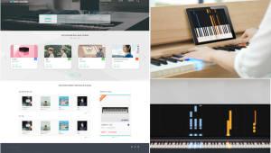 [2018 K-ICT 위크 인 부산 참가기업]사운드리더 '피아노 온라인 통합 플랫폼'