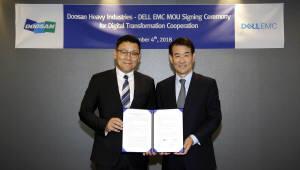 델 EMC, 두산중공업과 디지털 트랜스포메이션 위한 MOU 교환