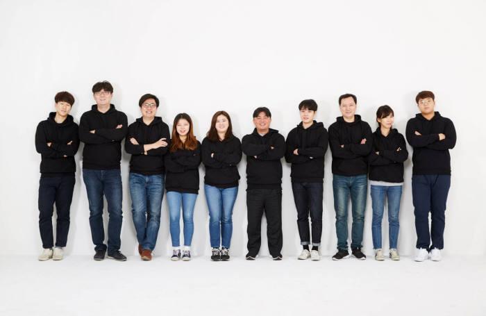 축산분야 스타트업 육그램의 구성원들