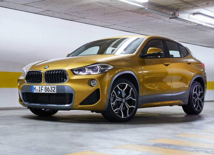 BMW가 이달 말부터 판매할 뉴 X2.