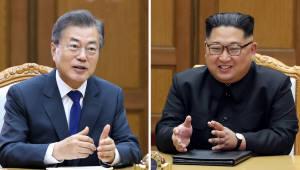 대북 특별사절단, 김정은 위원장 만나 '문 대통령 친서' 전달