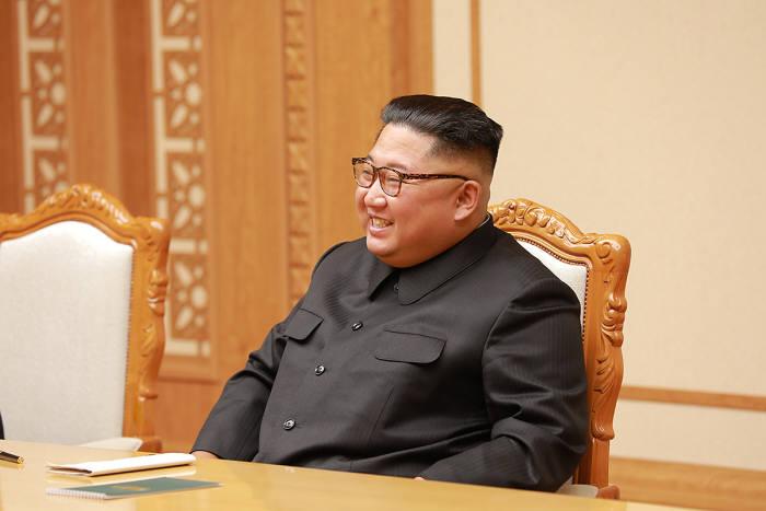 김정은 국무위원장.<사진:청와대>
