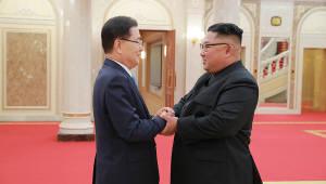 대북특사단, 김정은 위원장 만나 문재인 대통령 친서 전달...6일 언론 브리핑